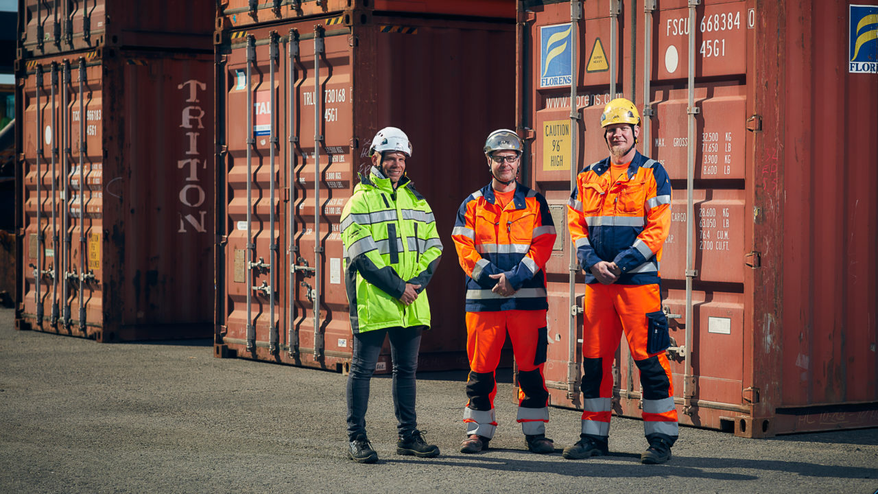 Container workers