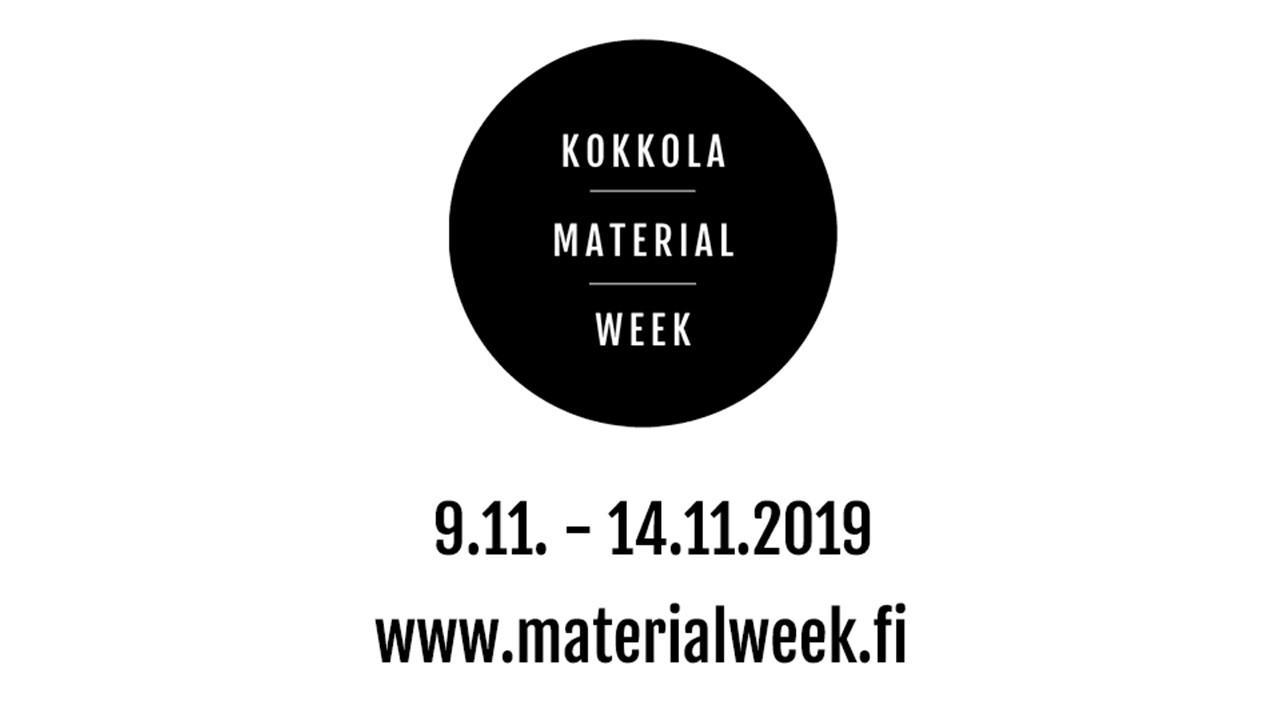 Kokkola Material Week Rauanheimo logo