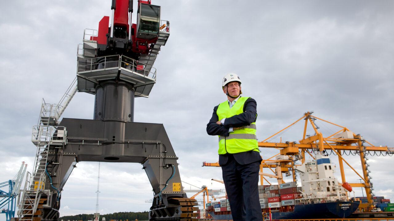Rauanheimo satamaoperaattori Joakim Laxåback