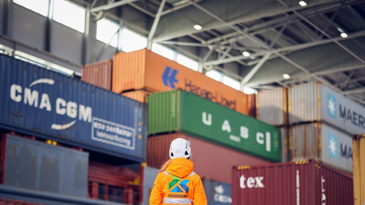 Rauanheimo Kokkola containers